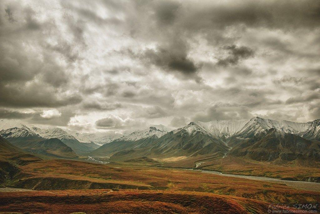 Entre nuages et montagnes